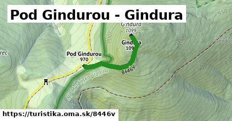 ilustračný obrázok k Pod Gindurou - Gindura