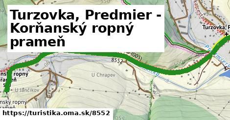 ilustračný obrázok k Turzovka, Predmier - Korňanský ropný prameň