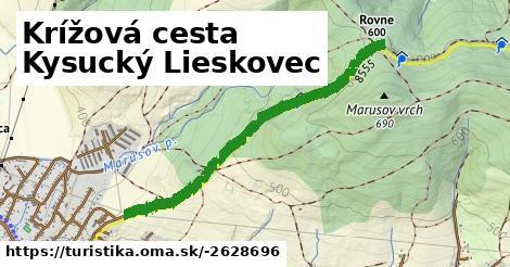 Krížová cesta Kysucký Lieskovec
