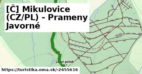 [Č] Mikulovice (CZ/PL) - Prameny Javorné