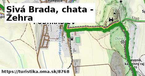 ilustračný obrázok k Sivá Brada, chata - Žehra