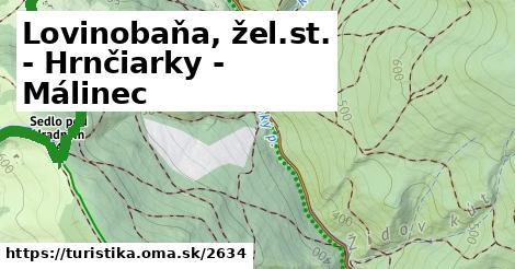 ilustračný obrázok k Lovinobaňa, žel.st. - Hrnčiarky - Málinec