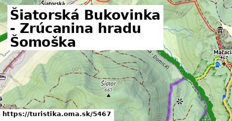 ilustračný obrázok k Šiatorská Bukovinka - Zrúcanina hradu Šomoška