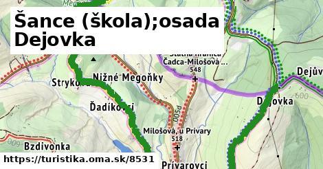 ilustračný obrázok k Šance, škola;osada Dejovka