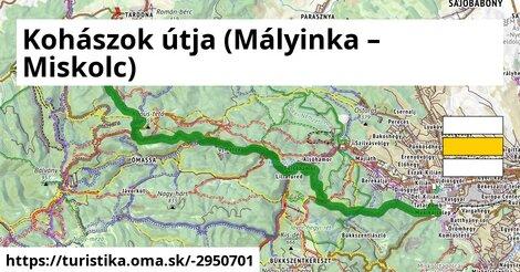 Kohászok útja Sáta-Miskolc