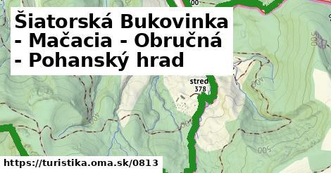 ilustračný obrázok k Šiatorská Bukovinka - Mačacia - Obručná - Pohanský hrad