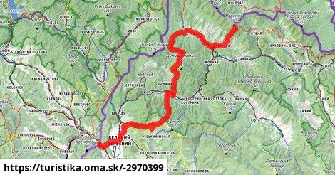 ilustračný obrázok k Карпатський туристичний шлях