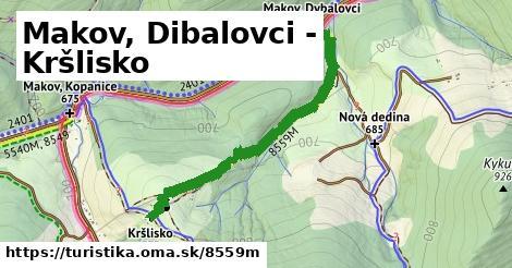 ilustračný obrázok k Makov, Dibalovci - Kršlisko