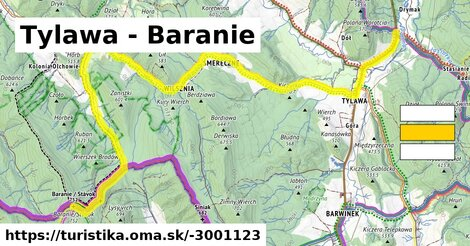 Tylawa - Baranie