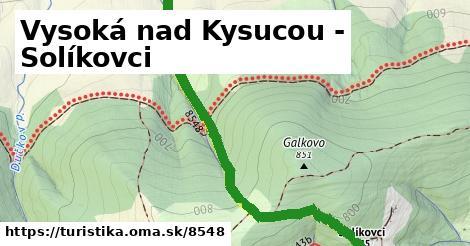 ilustračný obrázok k Vysoká nad Kysucou - Solíkovci