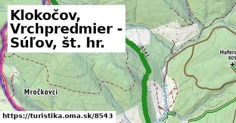 ilustračný obrázok k Klokočov, Vrchpredmier - Súľov, št. hr.