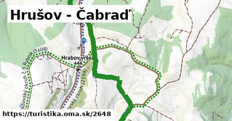 ilustračný obrázok k Hrušov - Čabraď