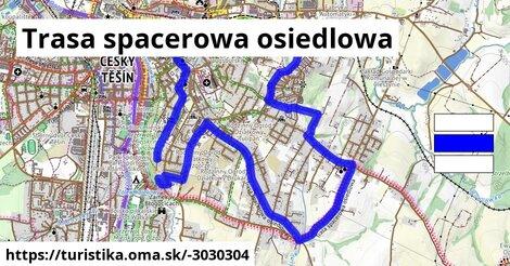 Trasa spacerowa osiedlowa