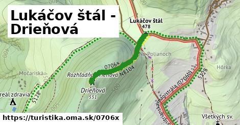ilustračný obrázok k Lukáčov štál - Drieňová