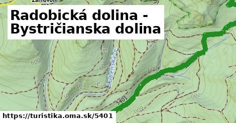ilustračný obrázok k Radobická dolina - Bystričianska dolina