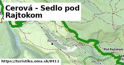 ilustračný obrázok k Cerová - Sedlo pod Rajtokom