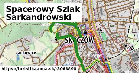 Spacerowy Szlak Sarkandrowski