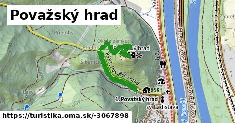 ilustračný obrázok k Považský hrad