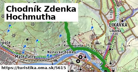 ilustračný obrázok k Chodník Zdenka Hochmutha