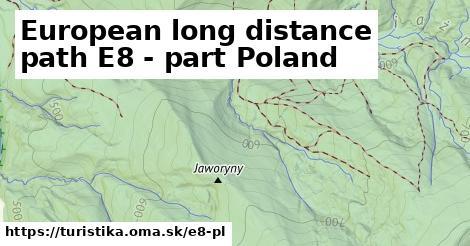 ilustračný obrázok k European long distance path E8 - part Poland