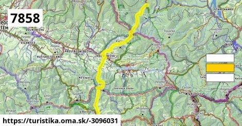 Horní Bečva, kostel;Martiňák;Bařiny;Skurečena;Podolánky-škola (BUS)