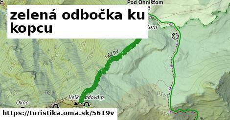 ilustračný obrázok k zelená odbočka ku kopcu
