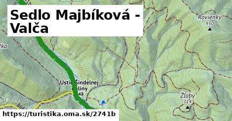 ilustračný obrázok k Sedlo Majbíková - Valča