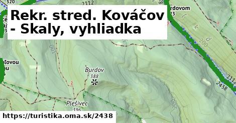 ilustračný obrázok k Rekr. stred. Kováčov - Skaly, vyhliadka