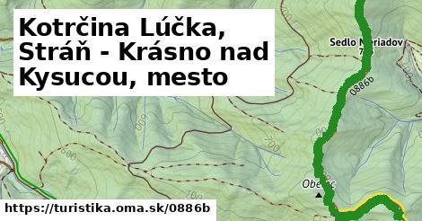 ilustračný obrázok k Kotrčina Lúčka, Stráň - Krásno nad Kysucou, mesto
