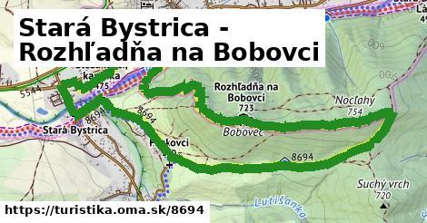 ilustračný obrázok k Stará Bystrica - Nocľahy, rozhľadňa
