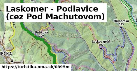 ilustračný obrázok k Laskomer - Podlavice (cez Pod Machutovom)