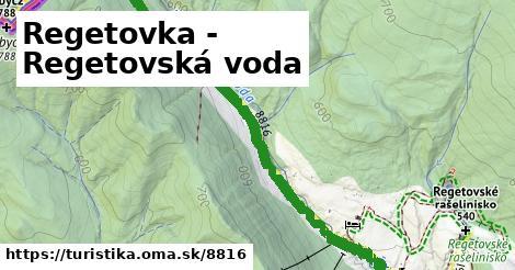 ilustračný obrázok k Regetovka - Regetovská voda