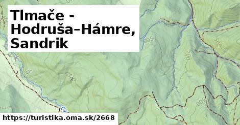 ilustračný obrázok k Tlmače - Hodruša–Hámre, Sandrik