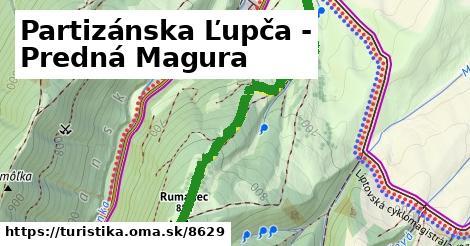 ilustračný obrázok k Partizánska Ľupča - Predná Magura