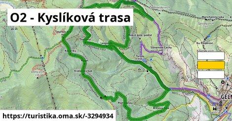 ilustračný obrázok k O2 - Kyslíková trasa