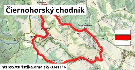 ilustračný obrázok k Čiernohorský chodník