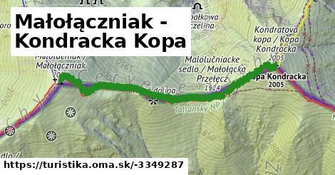 ilustračný obrázok k Małołączniak - Kondracka Kopa