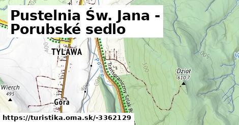 Pustelnia Św. Jana - Porubské sedlo