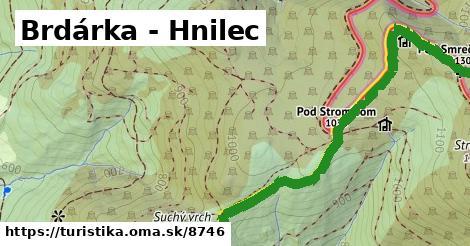 ilustračný obrázok k Brdárka - Hnilec