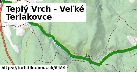 ilustračný obrázok k Teplý Vrch,Veľké Teriakovce
