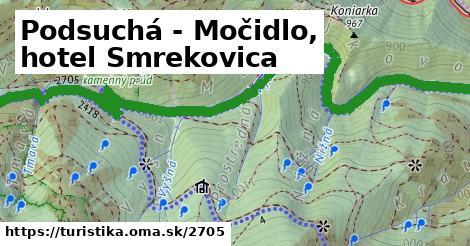 ilustračný obrázok k Podsuchá - Močidlo, hotel Smrekovica