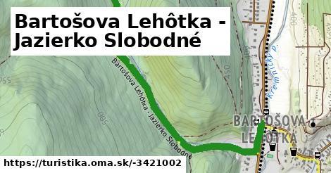 Bartošova Lehôtka - Jazierko Slobodné
