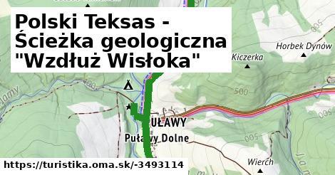 """Polski Teksas - Ścieżka geologiczna """"Wzdłuż Wisłoka"""""""