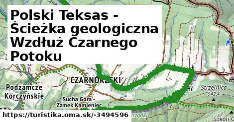 Polski Teksas - Ścieżka geologiczna Wzdłuż Czarnego Potoku