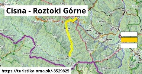 ilustračný obrázok k Cisna - Przełęcz nad Roztokami