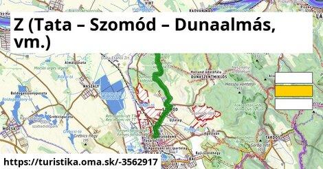 Z (Tata – Szomód – Dunaalmás, vm.)