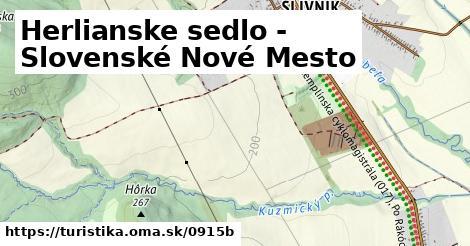 ilustračný obrázok k Herlianske sedlo - Slovenské Nové Mesto