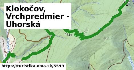ilustračný obrázok k Klokočov, Vrchpredmier - Uhorská