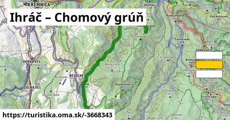 ilustračný obrázok k Ihráč – Chomový grúň