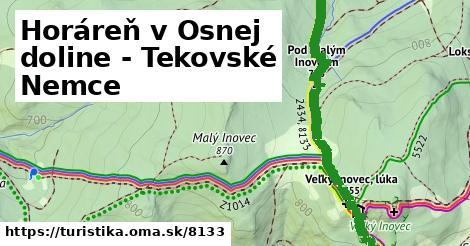 ilustračný obrázok k Horáreň Osná dolina - Tekovské Nemce